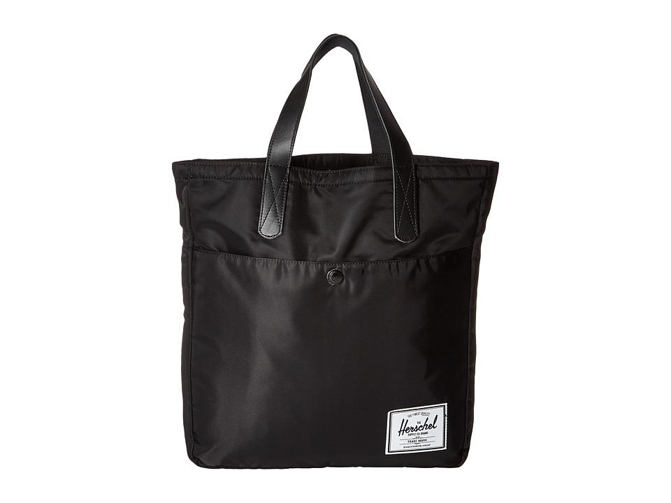 Herschel Supply Co. - Brohm (Black Nylon) Tote Handbags