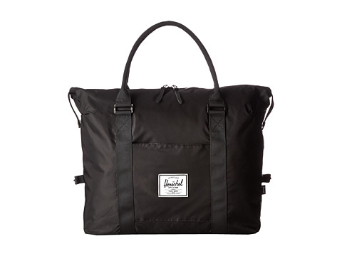 Herschel Supply Co. - Strand (Black Nylon) Duffel Bags
