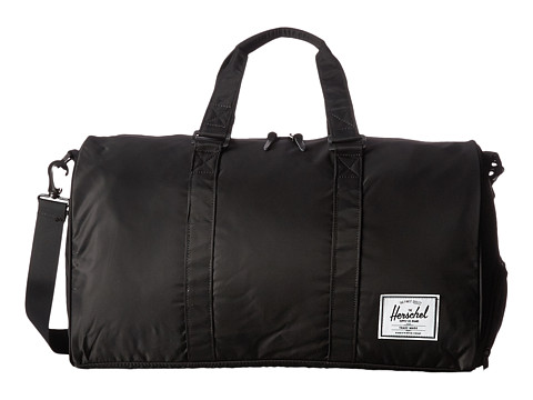 Herschel Supply Co. - Novel (Black Nylon) Duffel Bags