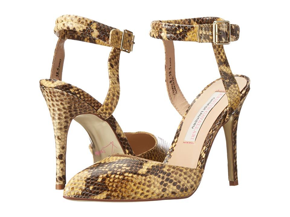 Kristin Cavallari - Cyprus (Yellow Python) High Heels