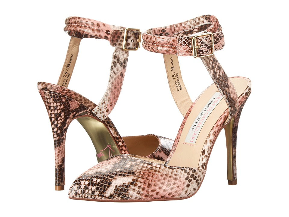Kristin Cavallari Cyprus (Pink Python) High Heels
