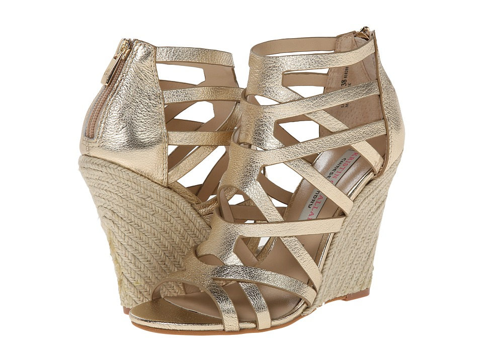 Kristin Cavallari - Lux (Light Gold Metallic) Women's Wedge Shoes