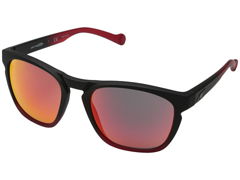 Arnette - Groove (Fuzzy Black To Gummy Cherry/Fuzzy Black To Gummy Cherry) Fashion Sunglasses