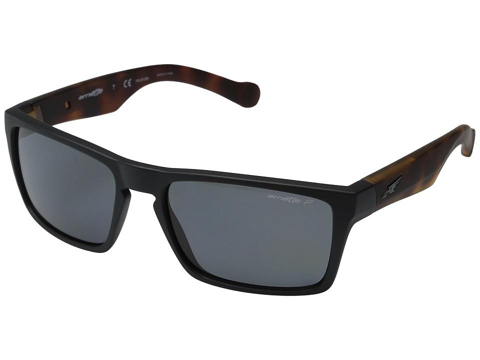 Arnette - Specialist (Matte Black/Fuzzy Havana/Matte Black) Fashion Sunglasses