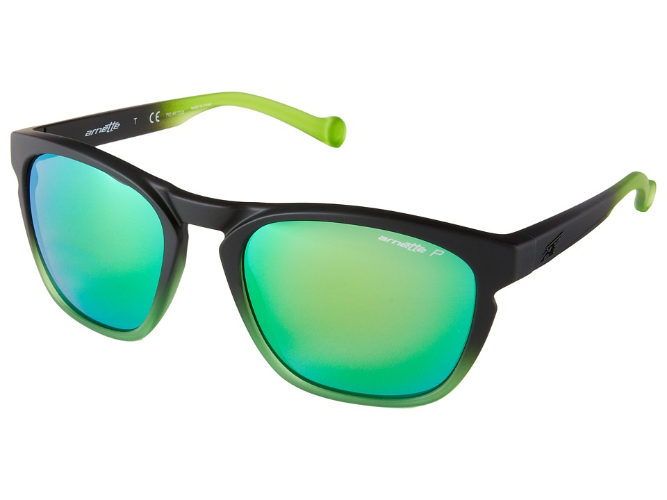 Arnette - Groove (Fuzzy Black To Gummy Lime/Fuzzy Black To Gummy Lime) Fashion Sunglasses