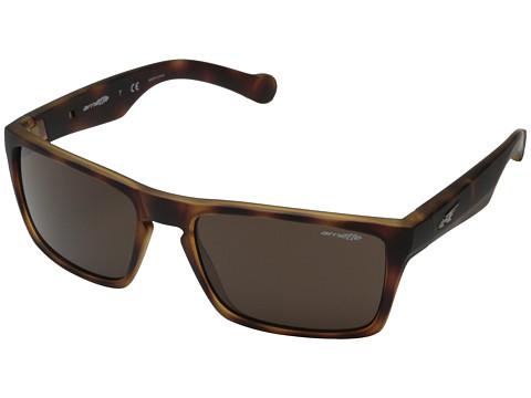 Arnette - Specialist (Fuzzy Havana/Fuzzy Havana/Fuzzy Black) Fashion Sunglasses