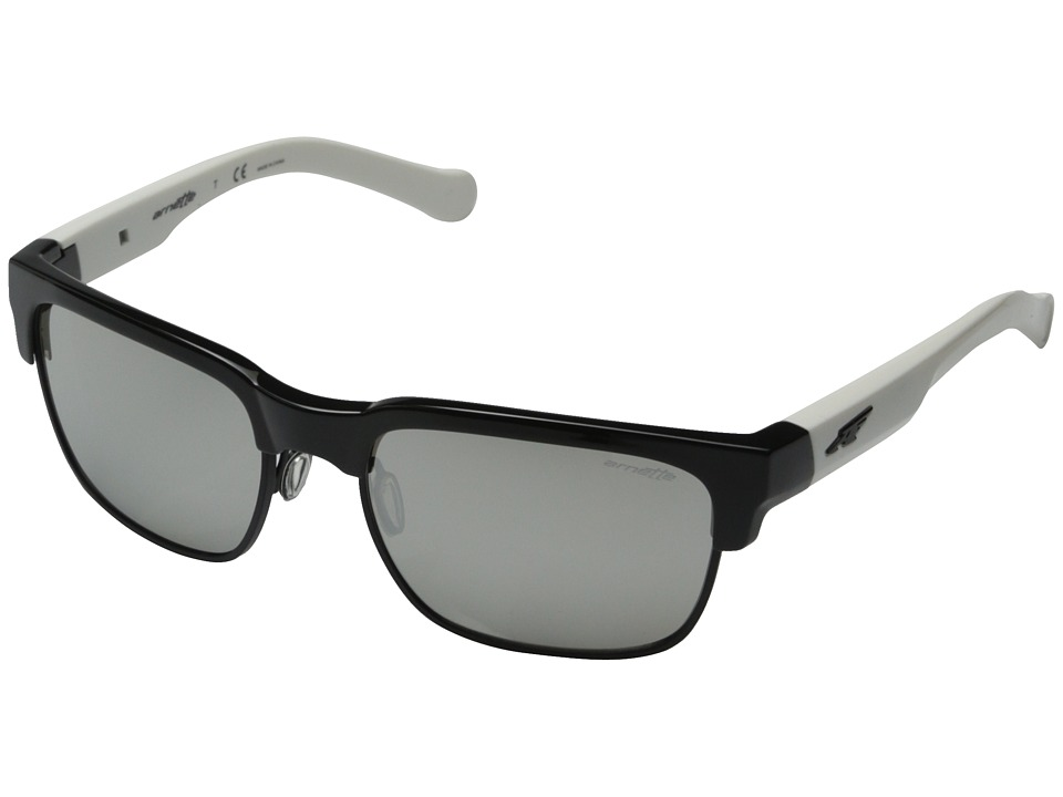 Arnette - Dean (Black/Matte Black Wire/White/Black Sticky Art Graphics) Fashion Sunglasses
