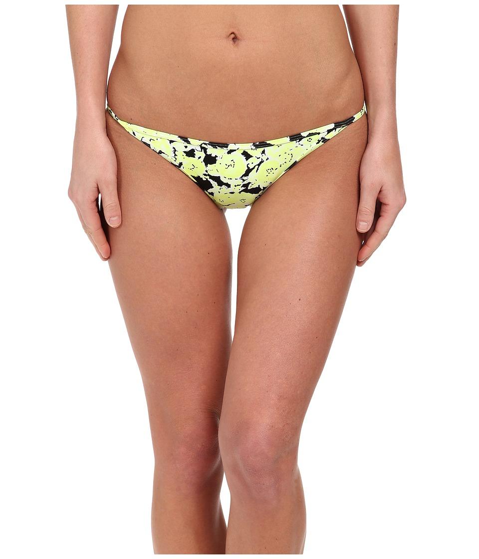 Volcom - Pretty Wild Tiny Bottom (Flash Yellow) Women's Swimwear