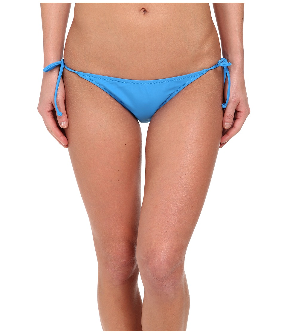 Volcom - Simply Solid Skimpy Side Tie Bottom (Bold Blue) Women's Swimwear