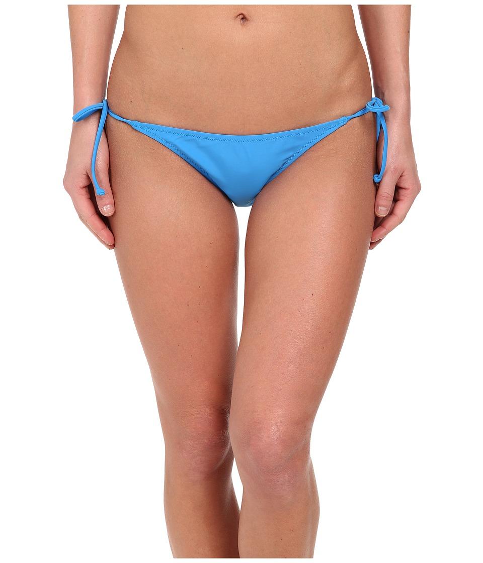 Volcom Simply Solid Skimpy Side Tie Bottom (Bold Blue) Women