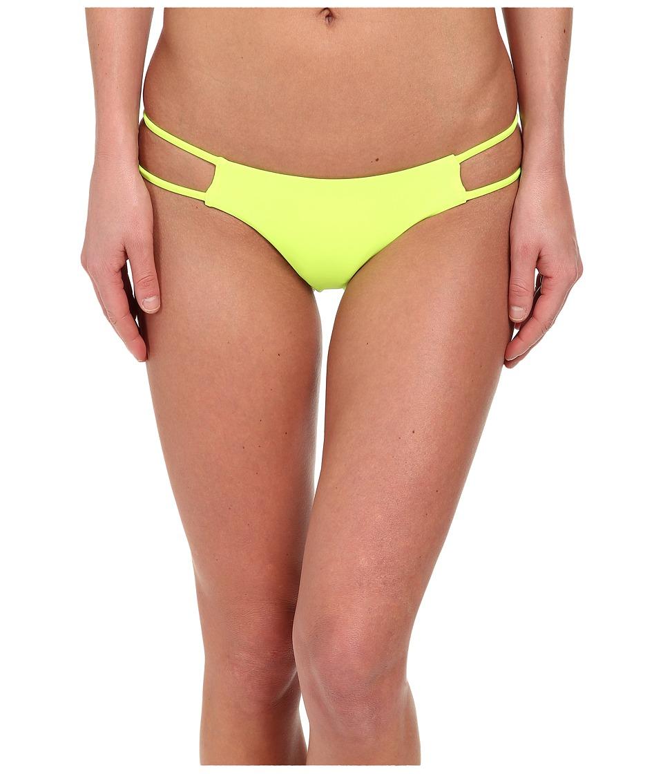 Volcom - Simply Solid Tiny Bottom (Flash Yellow) Women's Swimwear