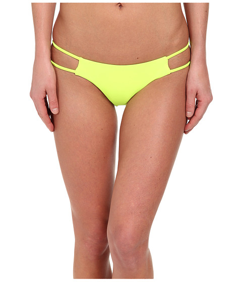 Volcom - Simply Solid Tiny Bottom (Flash Yellow) Women's Swimwear