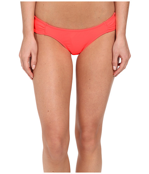Volcom - Simply Solid Modest Fit Bottom (Electric Coral) Women's Swimwear