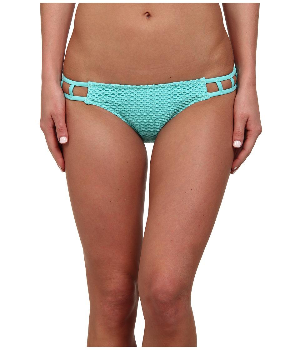 Volcom - Love Haight Retro Fit Bottom (Blue Bird) Women's Swimwear