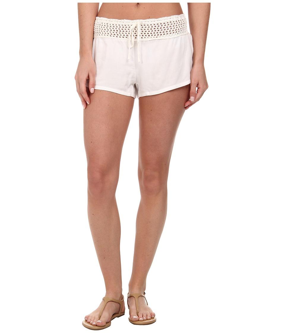 Volcom - Love Haight Short Cover-Up (Cream) Women's Swimwear