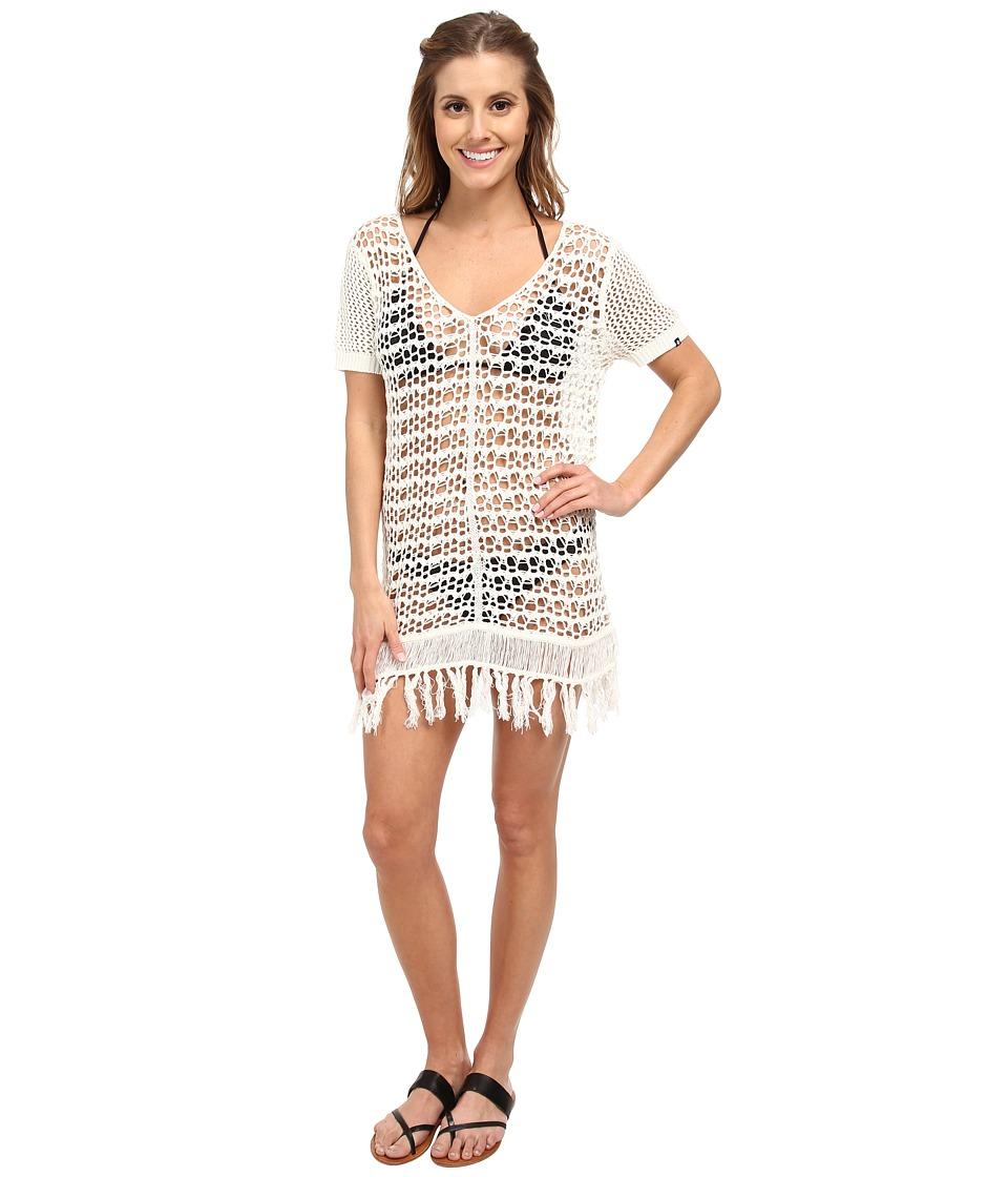 Volcom - Love Haight Dress Cover-Up (Cream) Women's Swimwear
