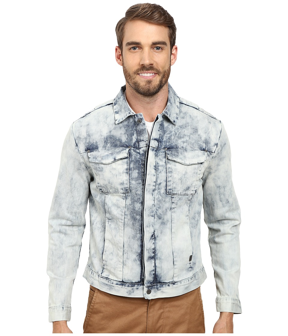 Calvin Klein Jeans - Wipe Out Wash Jacket (Denim) (Wipe Out Wash) Men's Coat