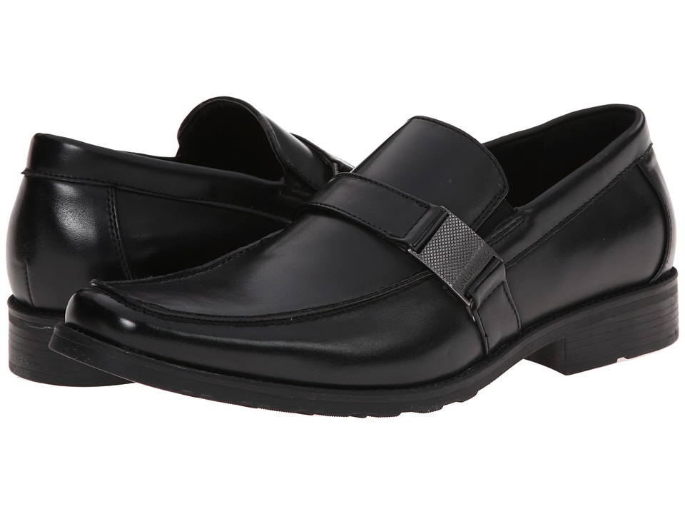 Kenneth Cole Unlisted - Slick N Slide (Black Synthetic) Men