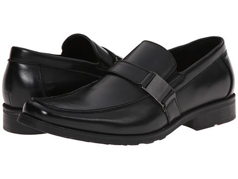 Kenneth Cole Unlisted - Slick N Slide (Black Synthetic) Men's Shoes