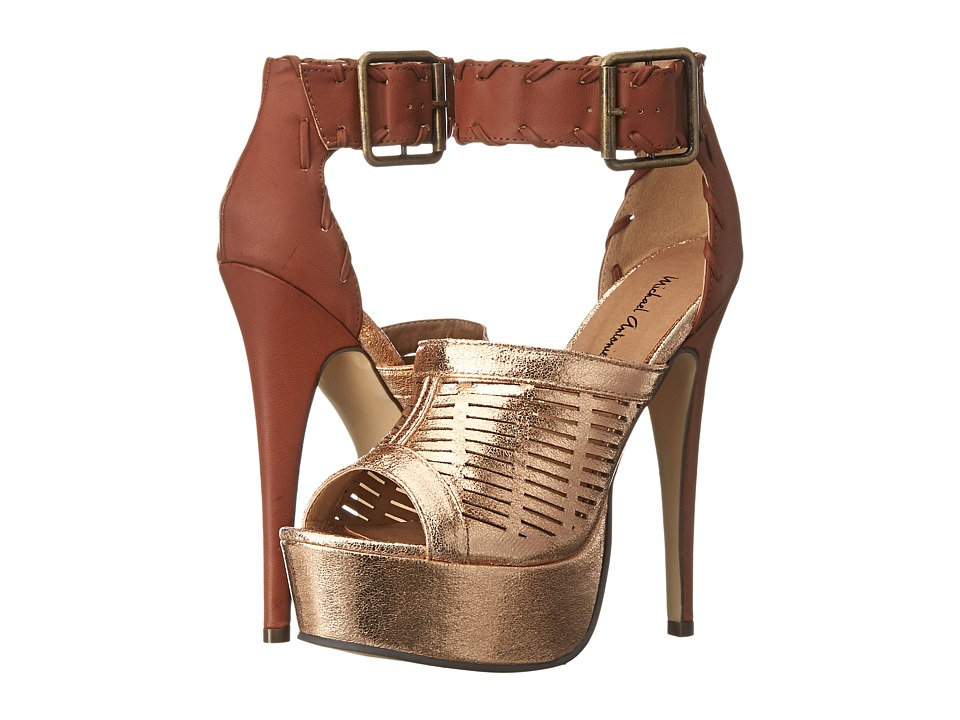 Michael Antonio - Thurborn Metallic (Bronze Metallic PU) Women's Shoes