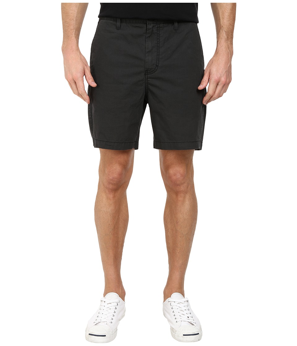 Calvin Klein Jeans - Printed Polka Flat Front Short (Black 050000) Men's Shorts