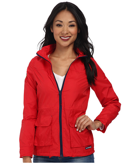 U.S. POLO ASSN. - Hooded Anorak Jacket (Seeing Red) Women's Coat