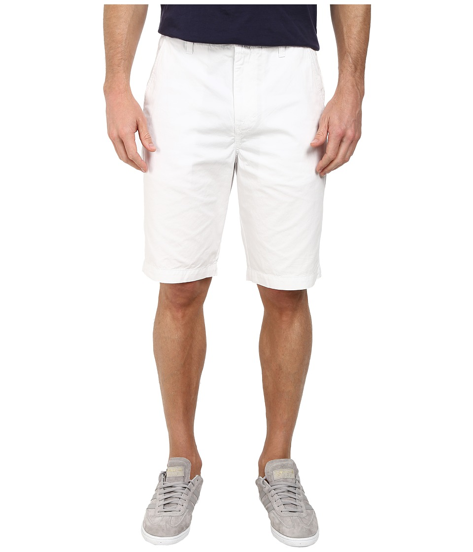 Calvin Klein Jeans - Multi Stitch C/W Roll Out (White) Men's Shorts