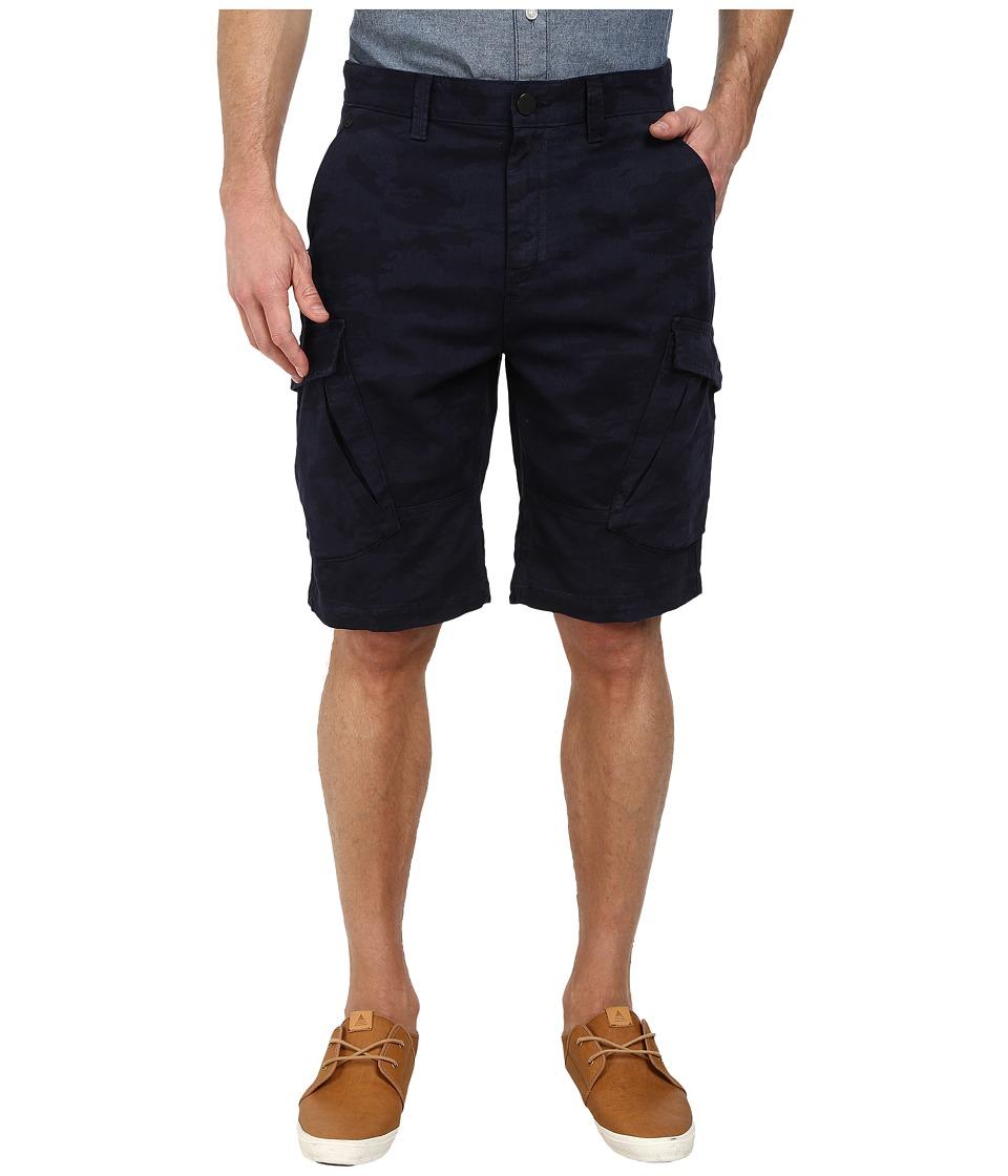 Calvin Klein Jeans - Laser Camo Short (Midnight Indigo) Men's Shorts