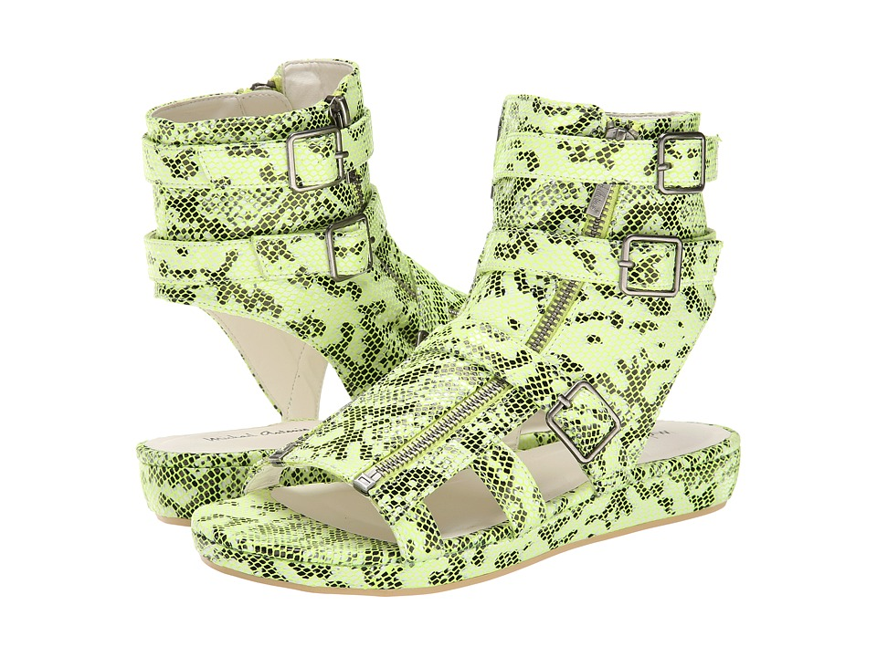 Michael Antonio - Darla Snake (Lime Snake PU) Women's Wedge Shoes