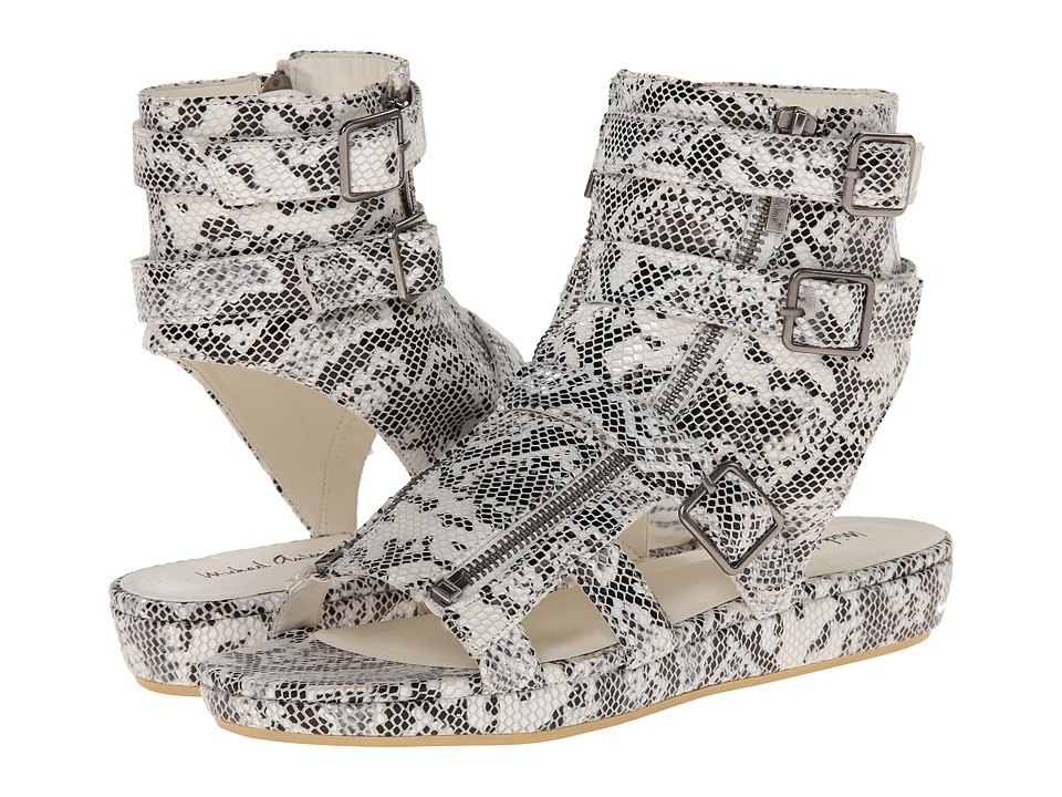 Michael Antonio - Darla Snake (White Snake PU) Women's Wedge Shoes