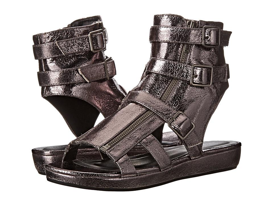 Michael Antonio - Darla Metallic (Pewter Met PU) Women's Wedge Shoes