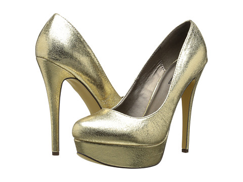 Michael Antonio - Lily Metallic (Gold Metallic PU) Women's Shoes