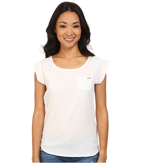 U.S. POLO ASSN. - Crepe De Chine T-Shirt (Optic White) Women's T Shirt