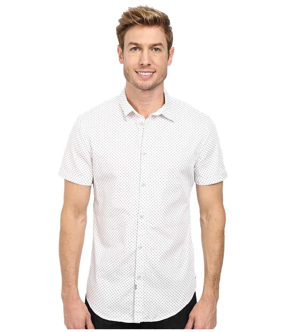 Calvin Klein Jeans - Polka Dot Shirt (White) Men's Clothing