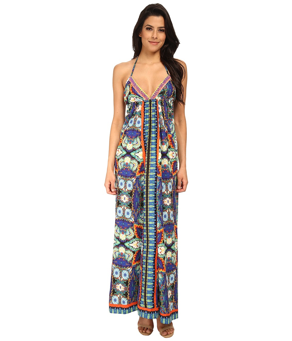 KAS New York - Lilo Beaded Maxi Dress (Multi) Women's Dress