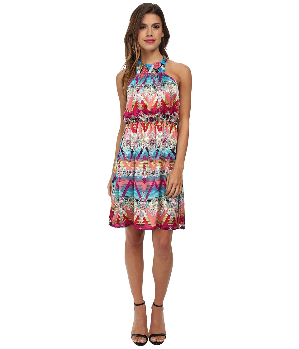 KAS New York - Manon Beaded Dress (Multi) Women's Dress