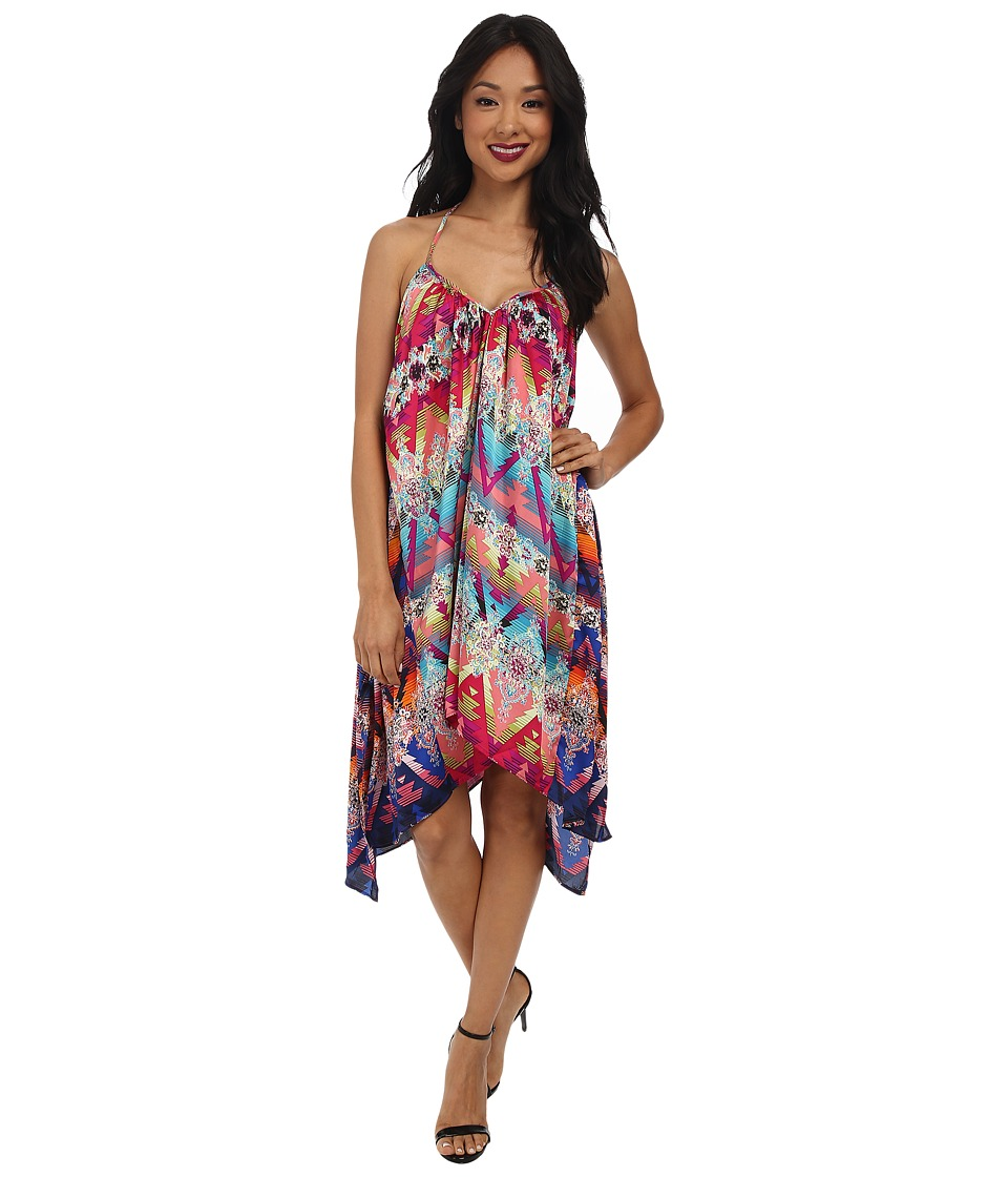 KAS New York - Suma Halter Dress (Multi) Women's Dress