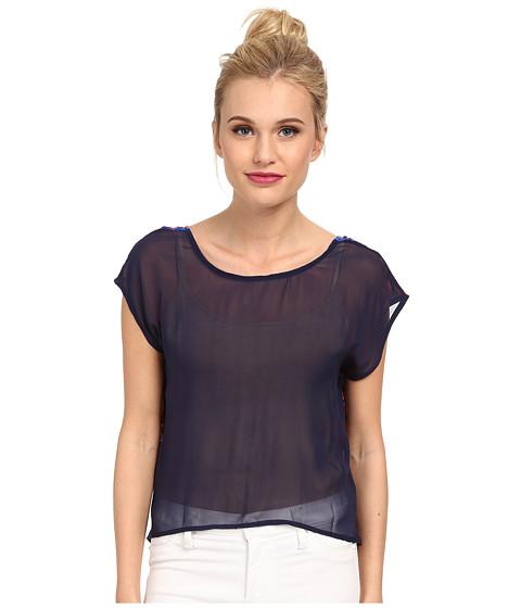 KAS New York - Salome V-Back Tee (Multi) Women's T Shirt