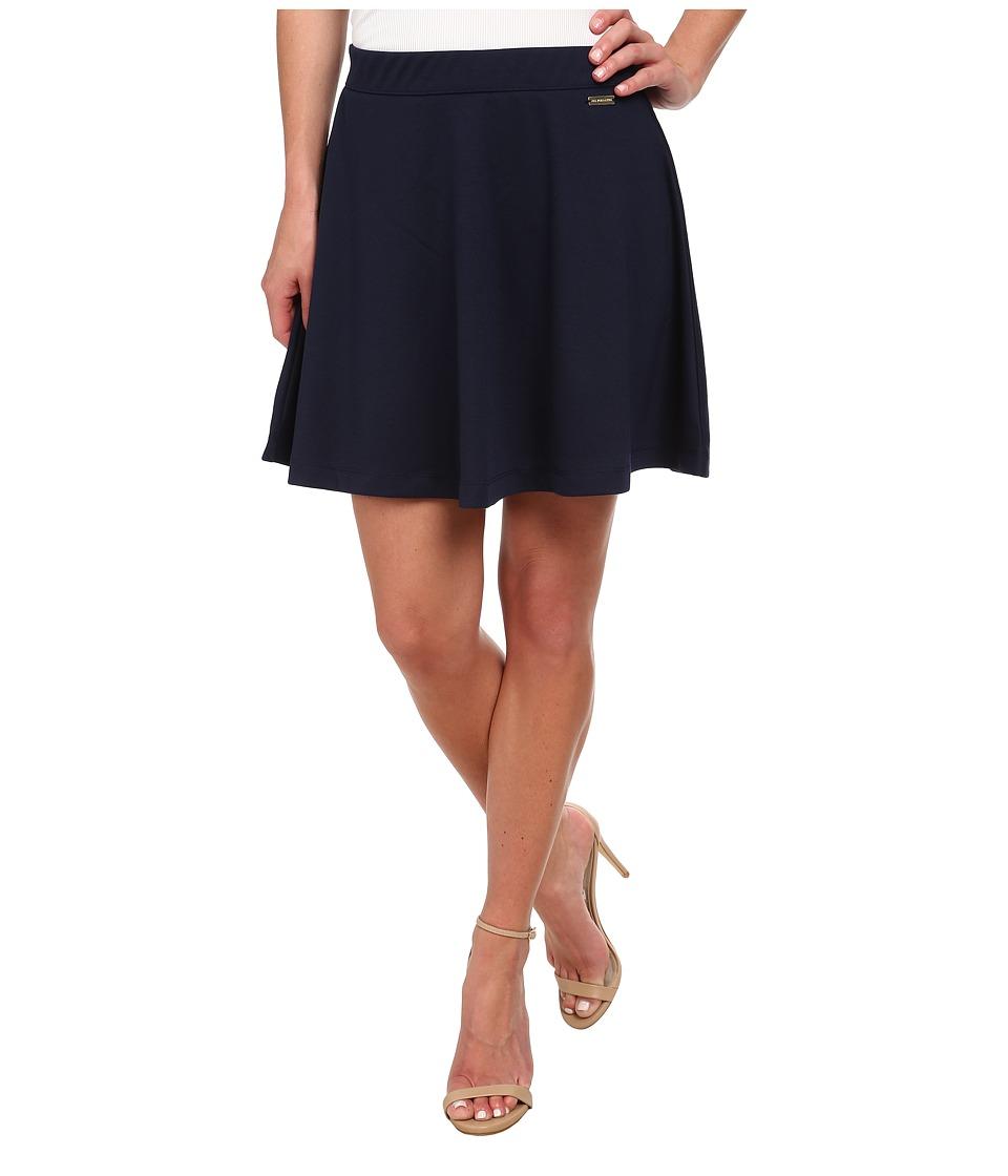 U.S. POLO ASSN. - Pony Circle Skirt (Tribal Navy) Women's Skirt