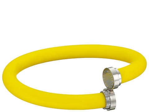 Marc by Marc Jacobs - Key Items Silicone Tubular Bangle Bracelet (Disco Yellow) Bracelet