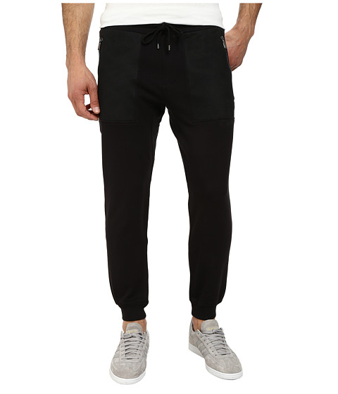 Michael Kors - Mesh Pocket Track Pant (Black) Men