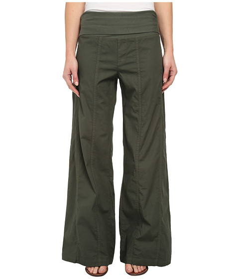 XCVI - Costello Wide Leg (Admiral Green) Women's Casual Pants