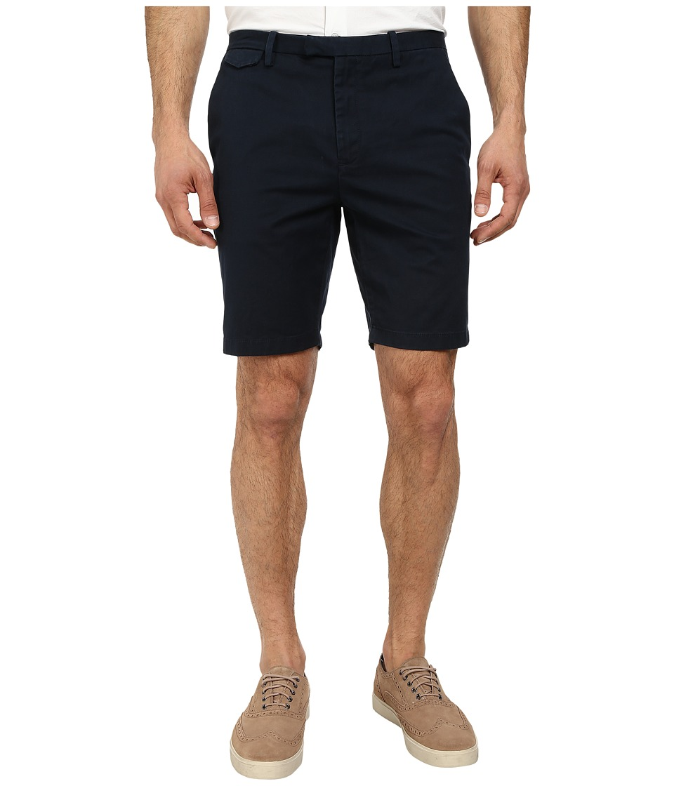 Michael Kors - Slim Cotton Stretch Short (Midnight) Men
