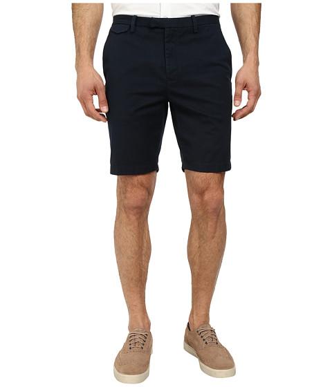 Michael Kors - Slim Cotton Stretch Short (Midnight) Men's Shorts