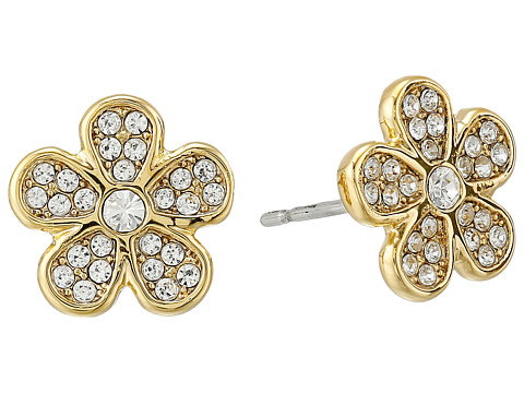 Marc by Marc Jacobs - Pave Daisy Studs Earring (Crystal/Oro) Earring