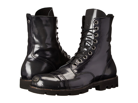 Diesel - Hardkor Steel (Black) Men's Lace-up Boots