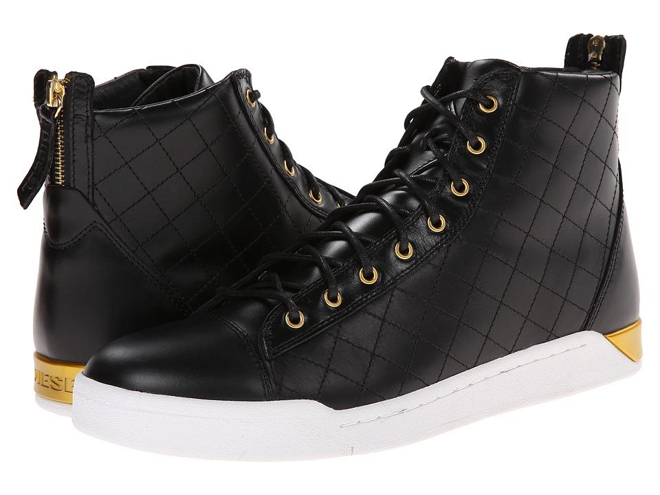 Diesel - Tempus Diamond (Black 1) Men's Lace up casual Shoes