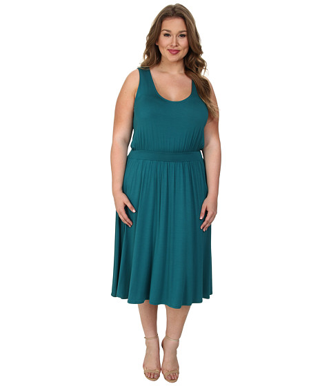 Rachel Pally Plus - Plus Size Romance Dress White Label (Rainforest) Women's Dress
