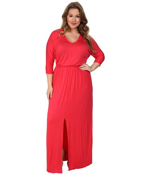 Rachel Pally Plus - Plus Size Roth Dress White Label (Wildberry) Women