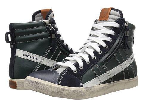 Diesel - D-Velows D-String (Blue Nights/Green Gables) Men's Shoes